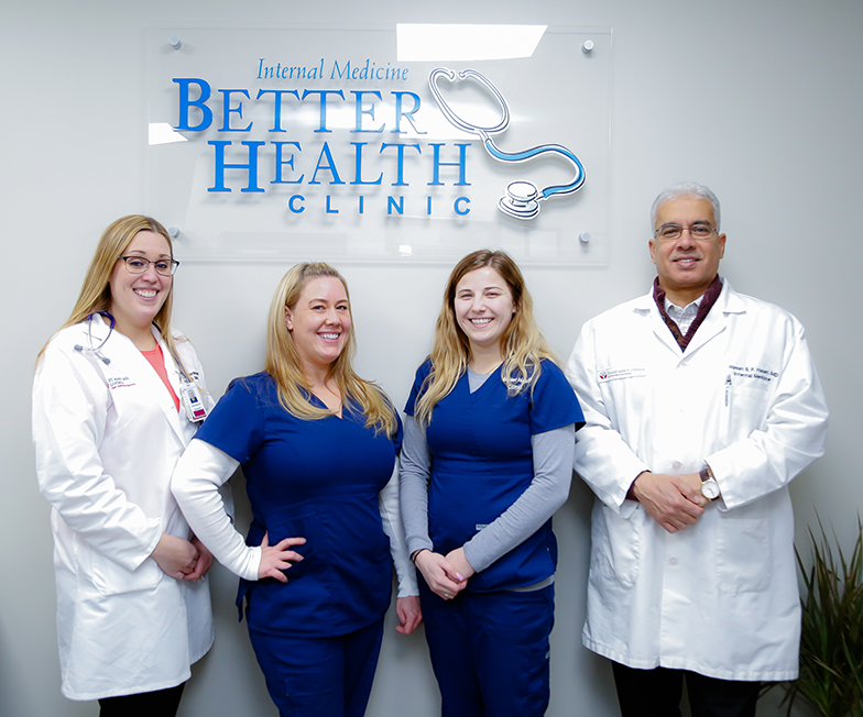 The team at Better Health Clinic